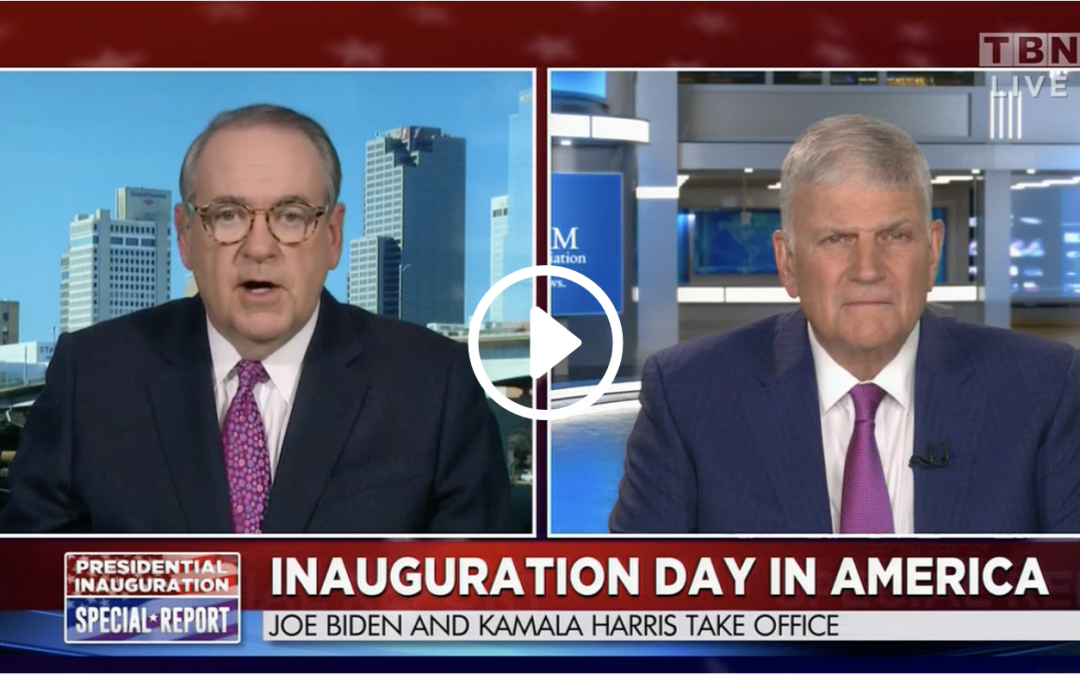 Franklin Graham on TBN: Inauguration Day
