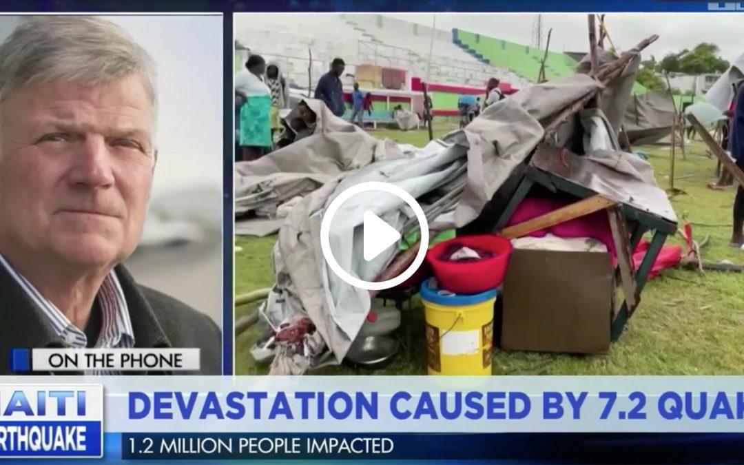 Franklin Graham on TBN: Haiti Earthquake