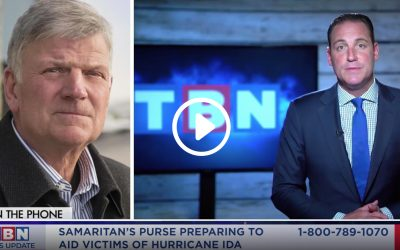 Franklin Graham on TBN: Samaritan's Purse's Responding to Hurricane Ida